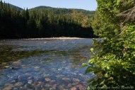 La rivière Ste Anne, dans le parc de la Gaspésie
