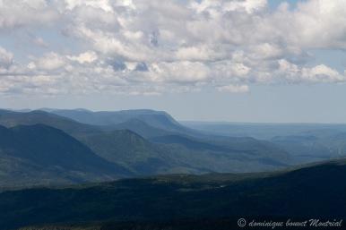 Panorama en montant vers le Mont Xalibu