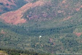 Un des refuges le long du sentier de grande randonnée qui traverse le parc de la Gaspésie d'ouest en est