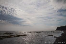 Bord du fleuve entre Trait-Carré et l'anse au Griffon