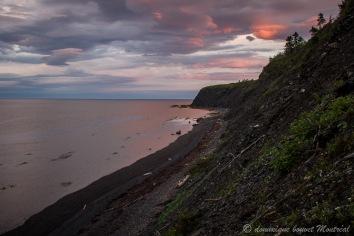Vue depuis le camping griffon, Gaspésie