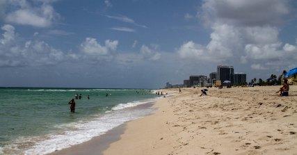 Miami beach vers le sud